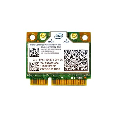 Lenovo/HP純正 60YFFFF 636672-001 Intel Centrino Advanced-N 6230 62230ANHMW 802.11a/b/g/n + Bluetooth...