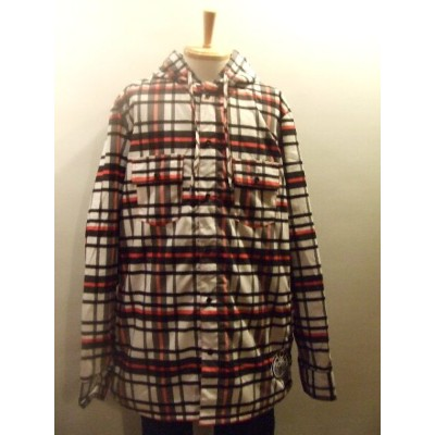 【60%OFF】nomis DWR RIDING FLANNEL ボタンシャツ カラー: ELECTRIC RED サイズ:XL