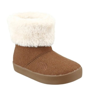 THE NORTH FACE K WINTER WOOL CAMP BOOTIE (ザ・ノース・フェイス キッズ ウィンター ウール キャンプ ブーディー)CN/チェスナット【キッズ ブーツ...