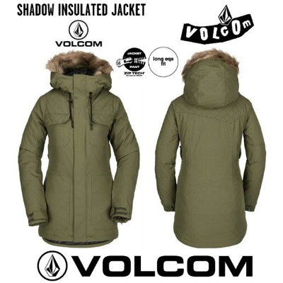 2019 VOLCOM SHADOW INS JACKET MIL ボルコム スノボーウエア
