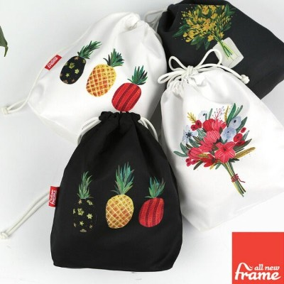 All New Frame String Pouch Collection C - Medium トラベルポーチ かわいい トラベルバッグ 旅行ポーチ 収納ポーチ オムツポーチ ベビー用品...