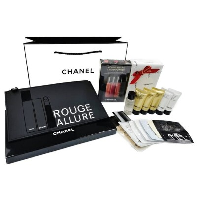CHANEL ROUGE ALLURE LIQUID POWDER SETLIQUID MATTE LIP COLOUR BLURRED EFFECTシャネル ルージュ アリュール...