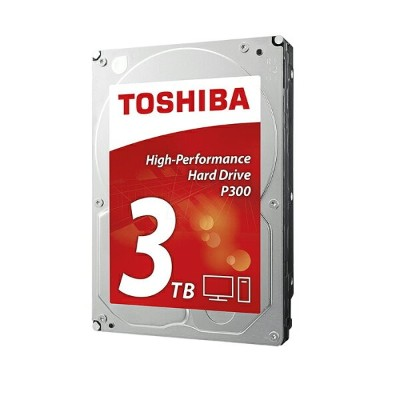東芝 3.5インチ 内蔵ハードディスク 3TB SATA 64MB 7200rpm TOSHIBA P300 HDWD130UZSVA High-Performance 内蔵hdd