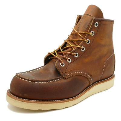 """RED WING 8876 Classic Work 6"""" Moc-toeレッドウイング 8876 クラシックワーク 6インチ モックトゥCopper Rough&Tough カッパー ラフ&タフ"""