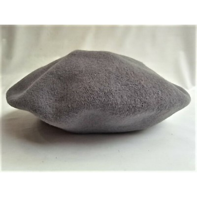 CPH(C-PLUS HEAD WEARS)【BERET SOLID WOOL】☆GRAY★