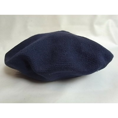 CPH(C-PLUS HEAD WEARS)【BERET/COTTON】★NAVY☆