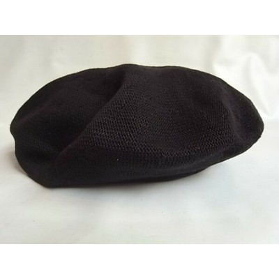 CPH(C-PLUS HEAD WEARS)【BERET/COTTON】★BLACK★
