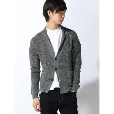 【SALE/75%OFF】TETE HOMME TETE HOMME/(M)麻混プレーティングJK テットオム コート/ジャケット コート/ジャケットその他 グレー【送料無料】