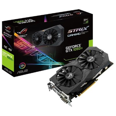 ASUSTEK グラフィックカード NIVIDIA GeForce GTX1050Ti チップセット搭載 GDDR5 4GB ROG STRIXシリーズ STRIXGTX1050TIO4GGAMING...