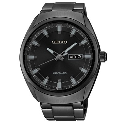 セイコー 腕時計 メンズ SNKN43 Seiko Men's SNKN43 Analog Display Automatic Self-Wind Black Watchセイコー 腕時計 メンズ...
