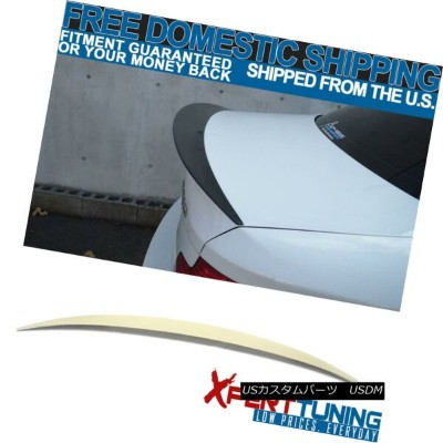 エアロパーツ 07-13 BMW 1- Series E82 2Dr Performance Style Unpainted ABS Trunk Spoiler 07-13 BMW 1シリーズE82...