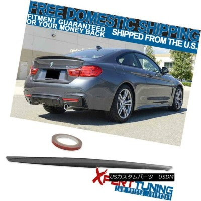 エアロパーツ For 14-17 BMW 4-Series F32 2D Coupe Rear Trunk Spoiler Wing P Carbon Fiber CF 14-17 BMW...