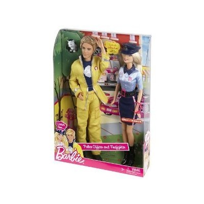 Barbie I Can Be...Police Officer and Firefighter