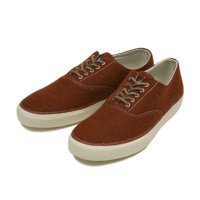【SPERRY TOP-SIDER】 スペリー トップサイダー CVO WOOL STS10516 RUST