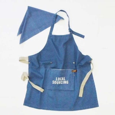 AND PACKABLE アンドパッカブル KIDS APRON キッズエプロン ローカルソーシング 89622
