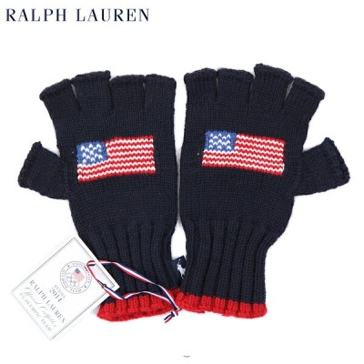 POLO by Ralph Lauren Men's TEAM USA Knit Glove US ポロ ラルフローレン MADE IN USA ニット手袋