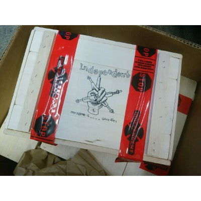 【Independent】 Stage 11 215 Mark Gonzales My Name Is Gonz Trucks Limited Edition Cigar Box