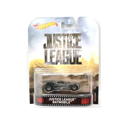 HOTWHEELS ホットウィールズ  RETRO ENTERTAINMENT レトロ JUSTICE LEAGUE BATMOBILE バットモービル