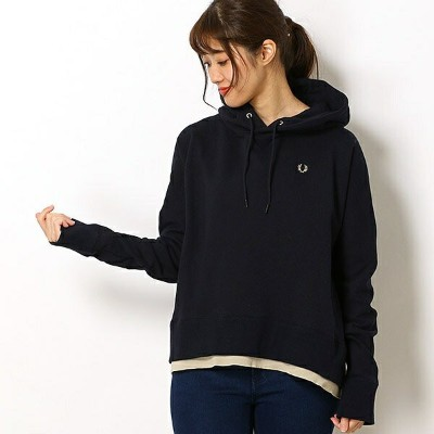 【19SS】HOODED SWEAT/フレッドペリー(レディス)(FRED PERRY)