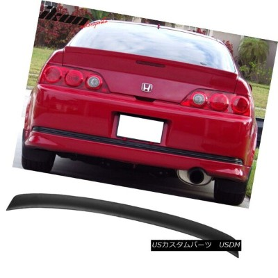 エアロパーツ 02-06 Acura RSX DC5 Type R Rear Trunk Duck Lip Spoiler Wing Unpainted - ABS 02-06アキュラRSX...