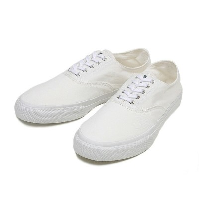 【SPERRY TOP-SIDER】 スペリー トップサイダー CVO COLORWASH STS10975 WHITE