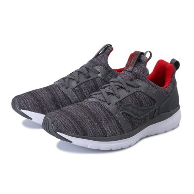 【SAUCONY】 サッカニー STRETCH&GO EASE ストレッチ&ゴー イース S40029-2 GREY/RED