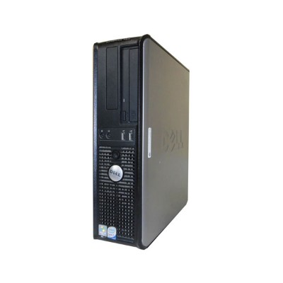 OSなし DELL OPTIPLEX 760 DT【中古】Core2Duo-E7400 2.8GHz/4GB/HDDなし/DVDコンボ