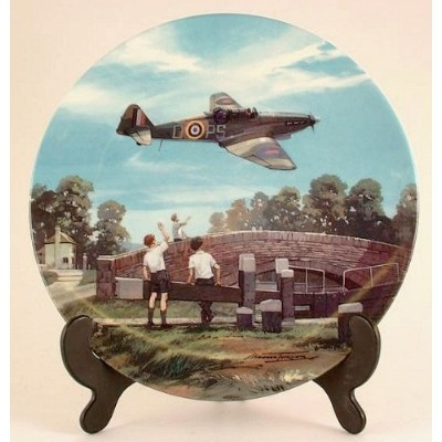 Royal Doulton Defiant Home For Tea Heroes of the Sky plate CP665