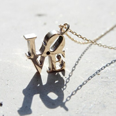 Atease LOVE NECKLACE K10 CG LIMITED