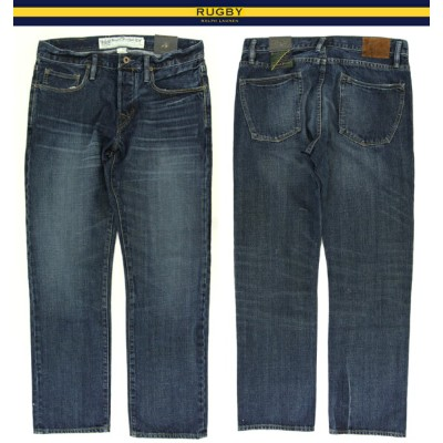 """RUGBY by Ralph Lauren """"Relaxed Straight"""" Jeans ラルフローレン ラグビー デニムパンツ"""