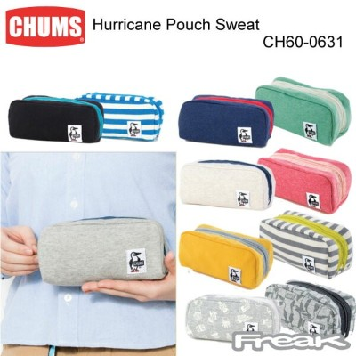 CHUMS チャムス バッグ ポーチ CH60-0631 Hurricane Pouch Sweat ハリケーンポーチスウェット ※取り寄せ品