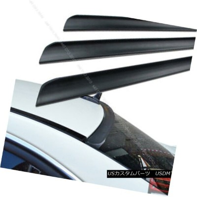 エアロパーツ 2008-2010 G37 V36 2DR REAR WINDOW ROOF LIP SPOILER WING UNPAINTED § 2008年?2010年G37 V36...