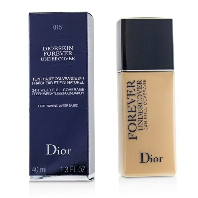 Christian Dior Diorskin Forever Undercover 24H Wear Full Coverage Water Based Foundation - # 015...