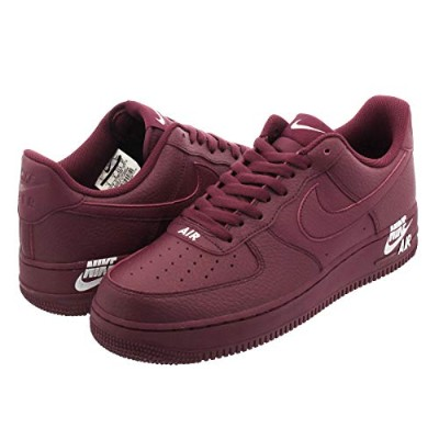 [ナイキ] AIR FORCE 1 '07 LTHR TEAM RED/TEAM RED/WHITE_在庫_US10-28.0cm [並行輸入品]