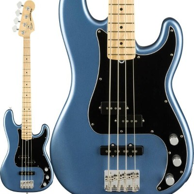 Fender American Performer Precision Bass (Satin Lake Placid Blue/Maple) [Made In USA] 【ikbp5】 ...