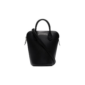 Calvin Klein 205W39nyc black Dalton mini leather bucket bag - ブラック