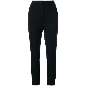 Moschino classic tailored trousers - ブラック