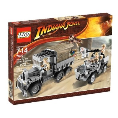 レゴ LEGO Indiana Jones Race for the Stolen Treasureレゴ