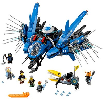 レゴ ニンジャゴー 6136342 LEGO Ninjago Movie Lightning Jet 70614 Building Kit (876 Piece)レゴ ニンジャゴー 6136342