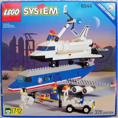 レゴ 6544 LEGO Town Launch Command 6544 Shuttle Transcon 2レゴ 6544