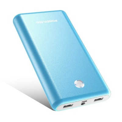 モバイルバッテリー 20000mAh Poweradd Pilot X7 持ち運び充電器 大容量 2USBポートiPhone iPad Galaxy Xperia Nexus Sony...