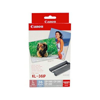 Canon カラーインク/ペーパーセット KL‐36IP