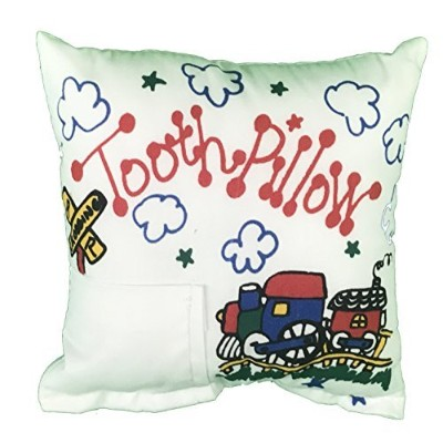 Train Tooth Fairy Pillow with Tooth Fairy Dust