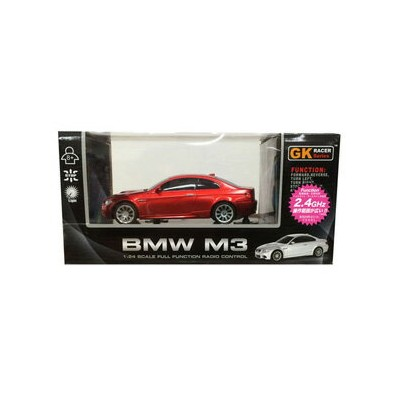 1/24 RCカー 2.4GHz No.11 BMW M3 赤 童友社