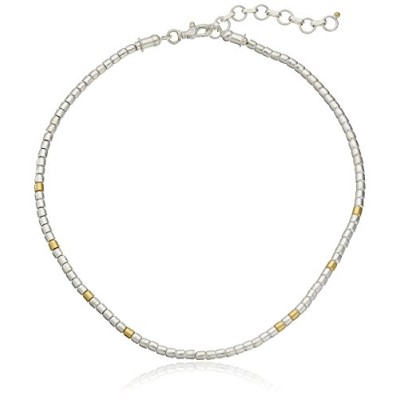 "GURHAN""Vertigo"" Sterling Silver Small Bead Necklace"