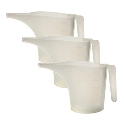 (1, 2 cups) - Norpro 3038 2 Cup Measuring Funnel Pitcher, White
