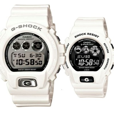CASIO ジーショック 腕時計 ペアセレクション LOVE-ba G-SHOCK g-shock mini DW-6900mr-7JF GMN-691-7aJF