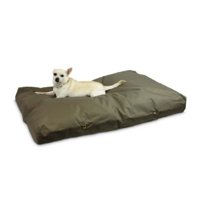 Snoozer Waterproof Rectangle Pet Bed, Large, Hazelnut, 36 by 54-Inch by Snoozer