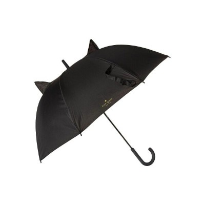 ケイト スペード Kate Spade New York レディース 傘【Cat Travel Umbrella】Black