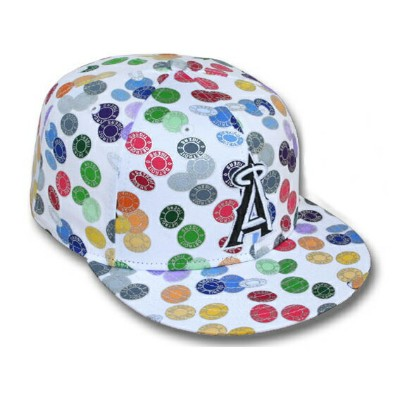 NEW ERA LOS ANGELES ANGELS OF ANAHEIM 【TOKENS/WHT-MULTI】ニューエラ ロサンゼルス エンゼルス オブ アナハイム 59FIFTY FITTED...